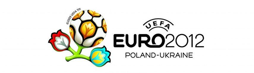 Das Logo der Europameisterschaft 2012 in Polen und der Ukraine