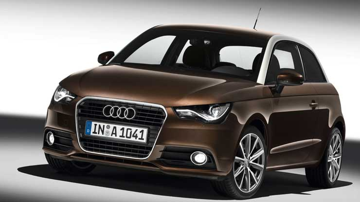 der audi a1 nix da mit der mann und sein auto. Black Bedroom Furniture Sets. Home Design Ideas